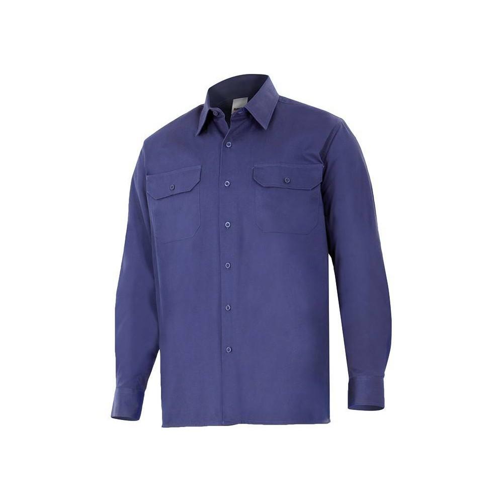 Camisa de manga larga 100% algodón