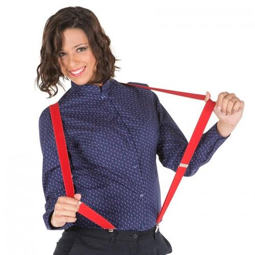 Camisa hostelería mujer Garys 2498