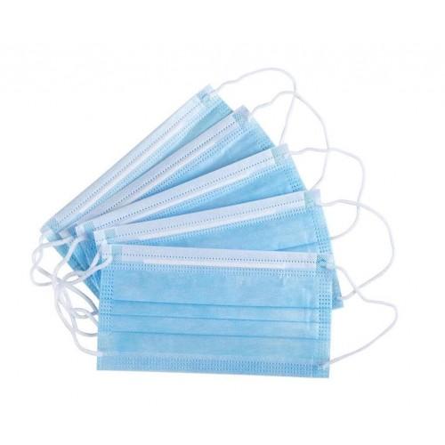 Mascarilla higiénica desechable de 3 capas