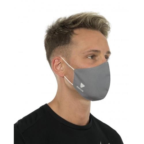 Mascarilla de protección de tela con triple capa