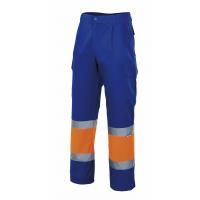 Pantalón alta visibilidad bicolor