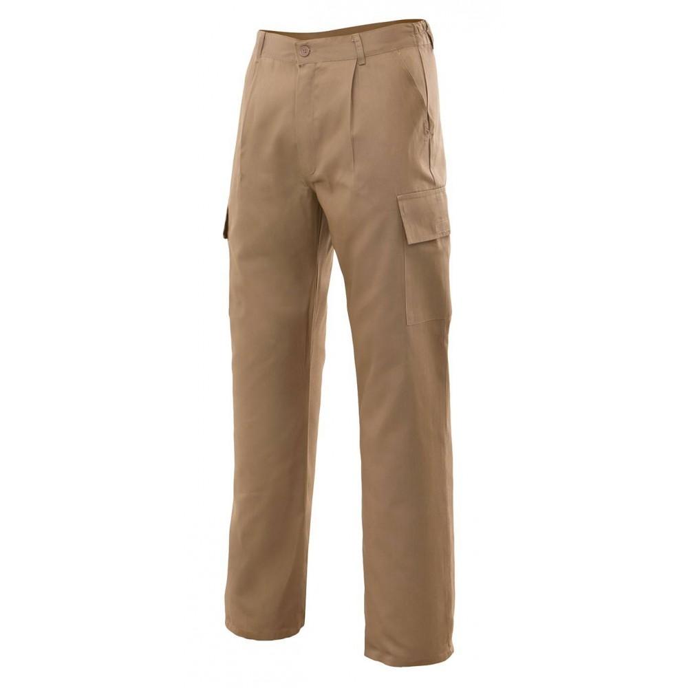 Pantalón básico multibolsillos