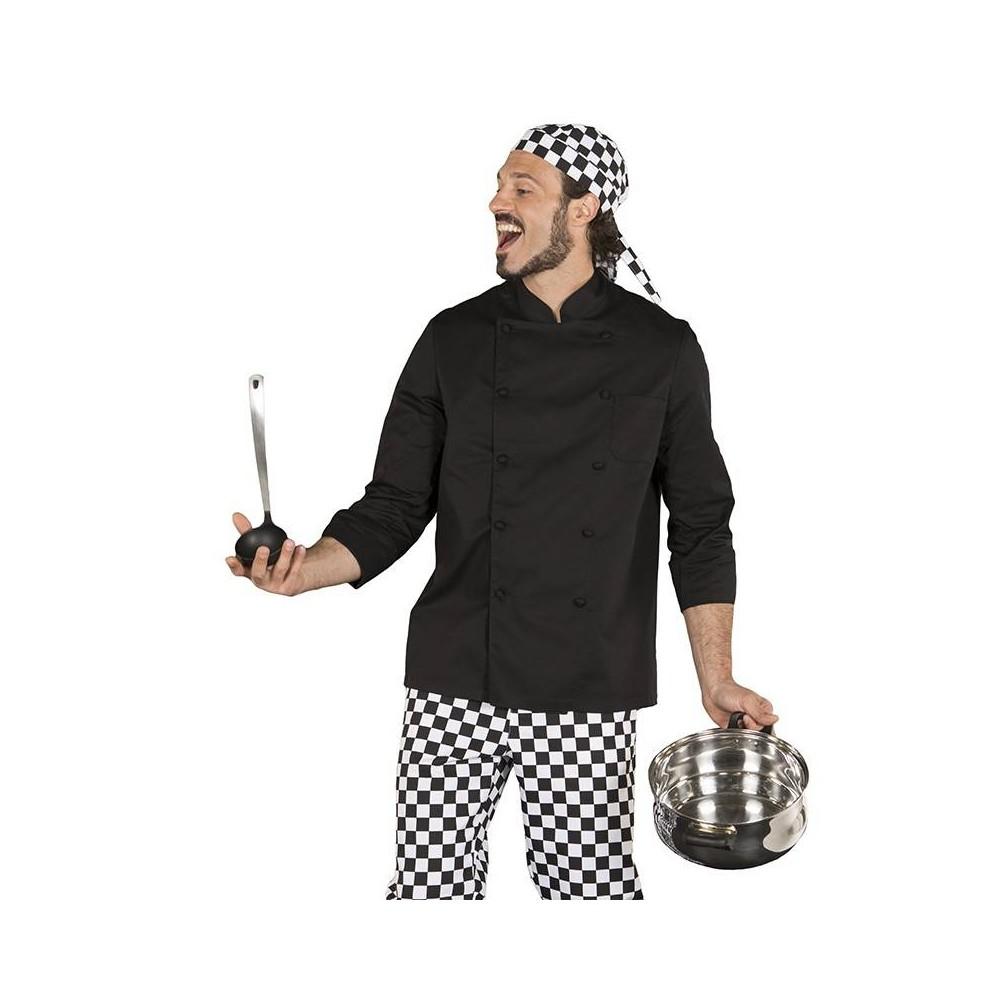 Chaqueta de cocina unisex resistente