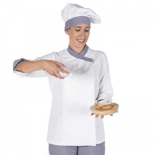 Chaqueta de Cocinera Combinada