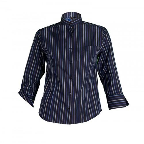 Camisa de camarero de rayas