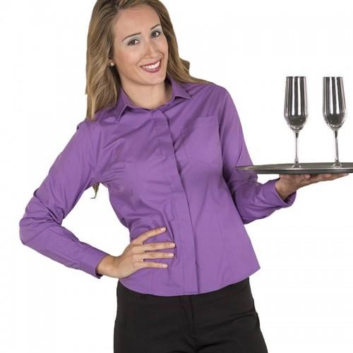 Blusa de camarera con Bolsillo