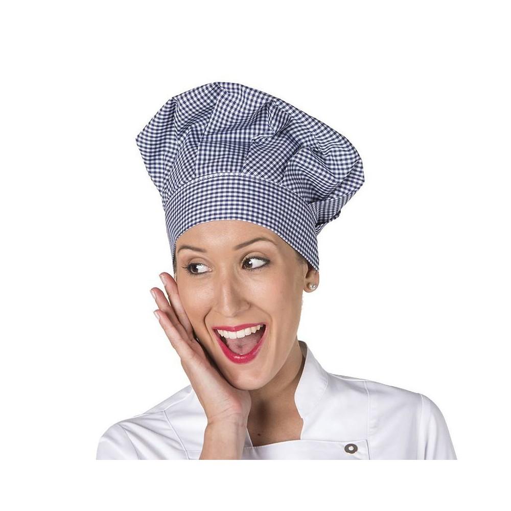 Gorro de Cocina de Cuadros