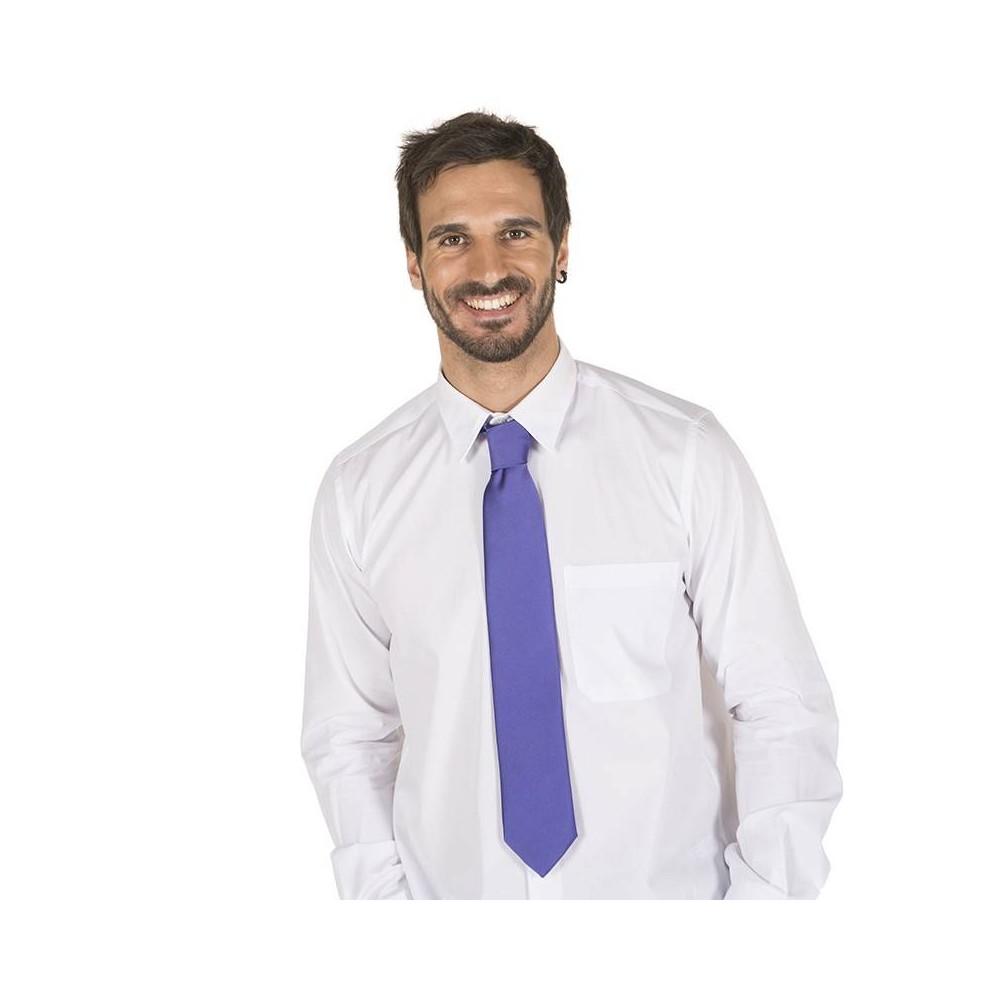 Corbata sin nudo de raso