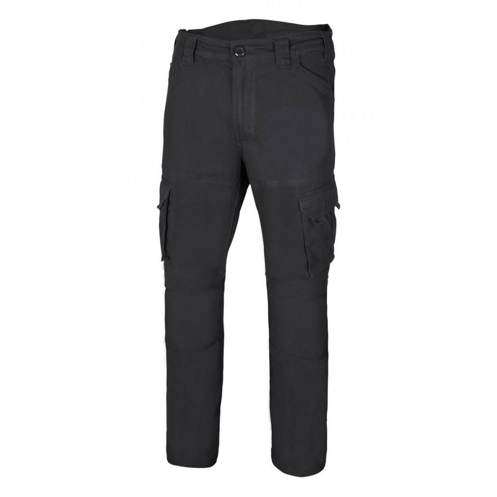 Pantalón Stretch de algodón multibolsillos