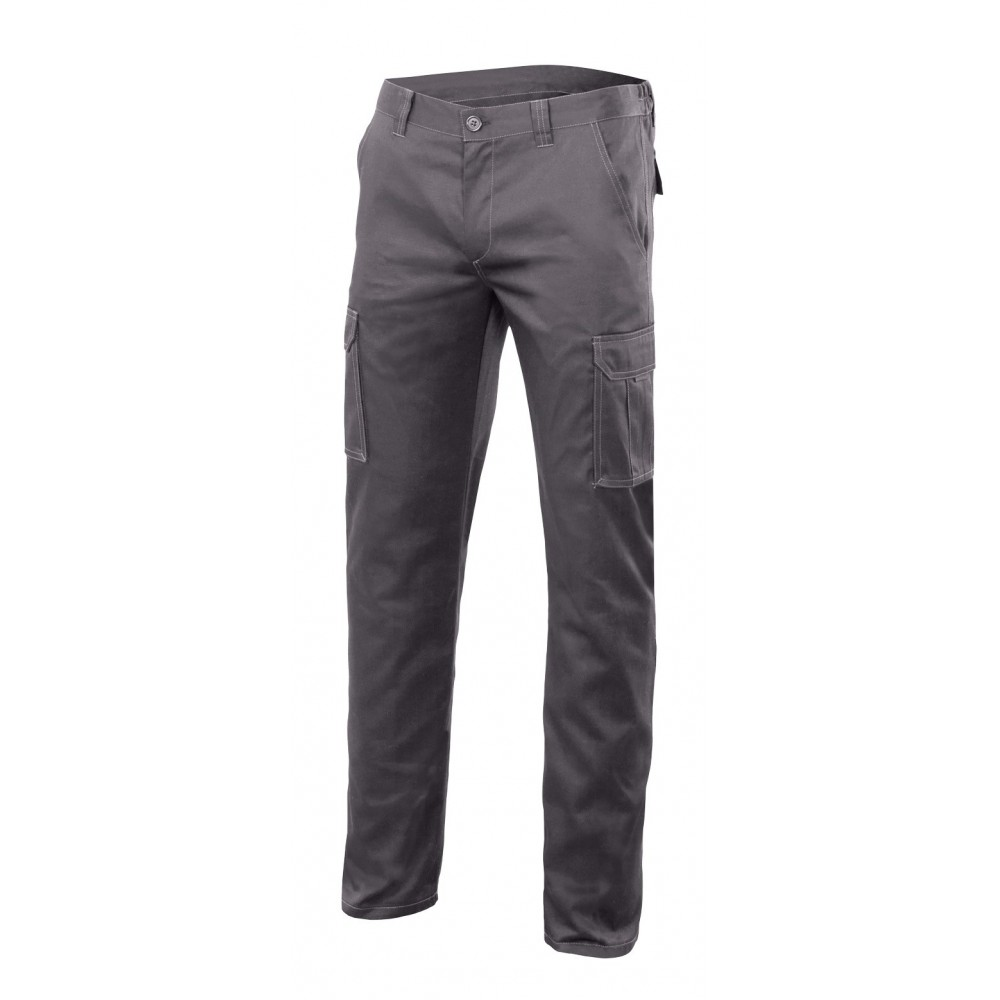 Pantalón Stretch Forrado multibolsillos
