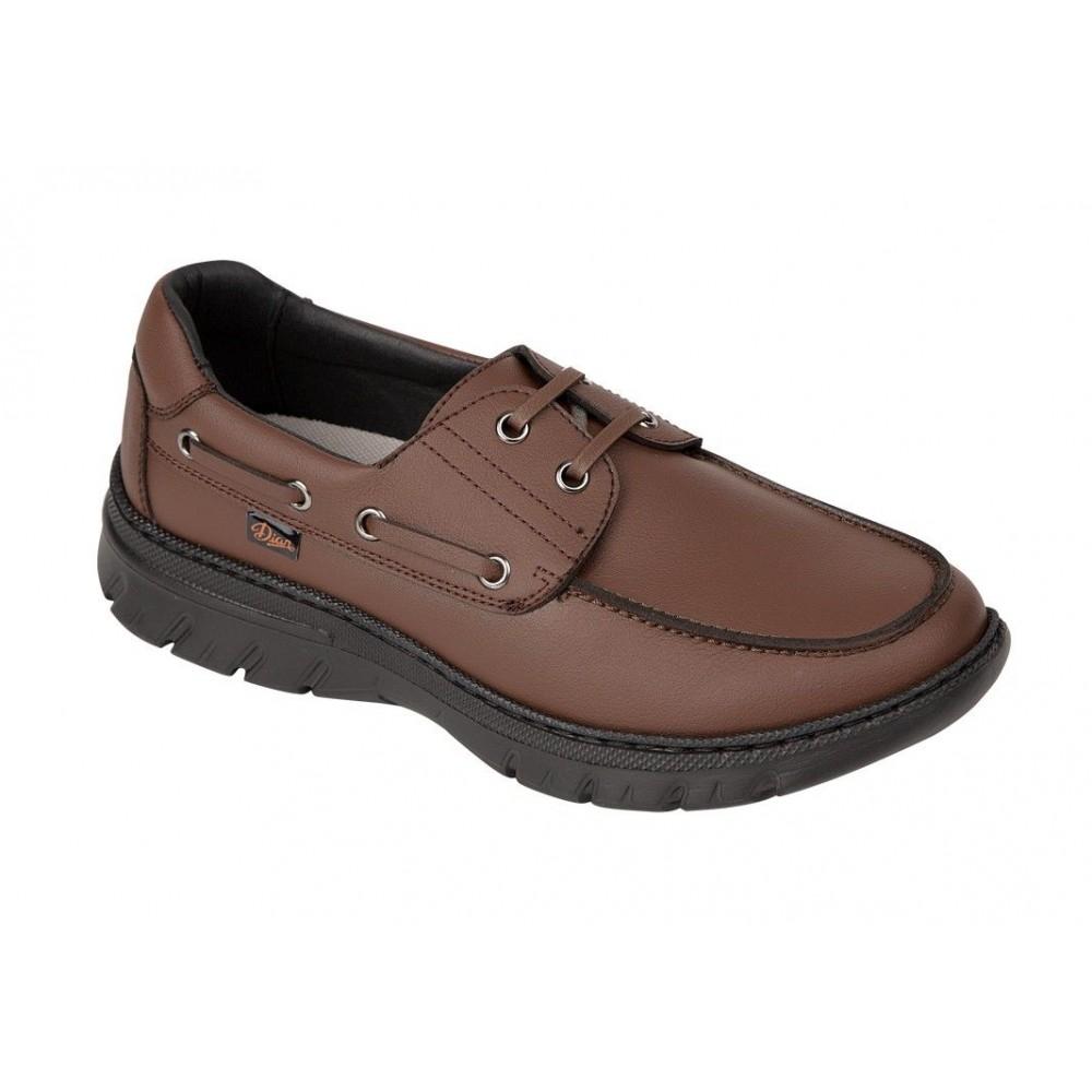 Zapato náutico transpirable con cordones