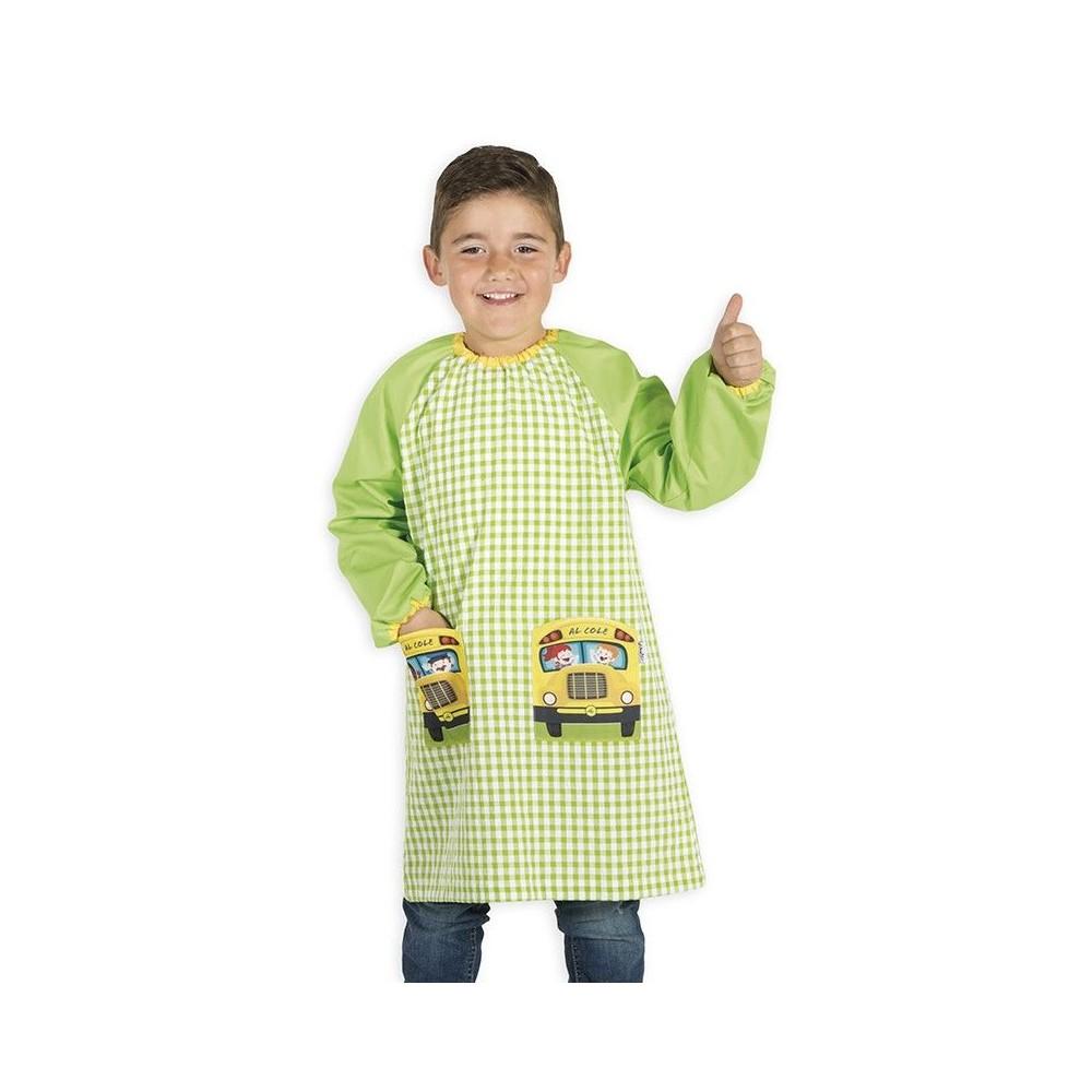 Baby Escolar estampado con bolsillos