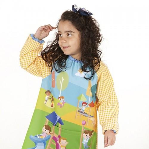 Baby Escolar de colores con bolsillo