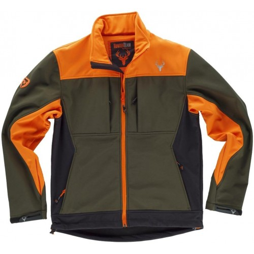 Chaqueta Workshell tricolor
