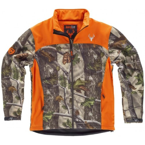 Chaqueta Workshell estampada