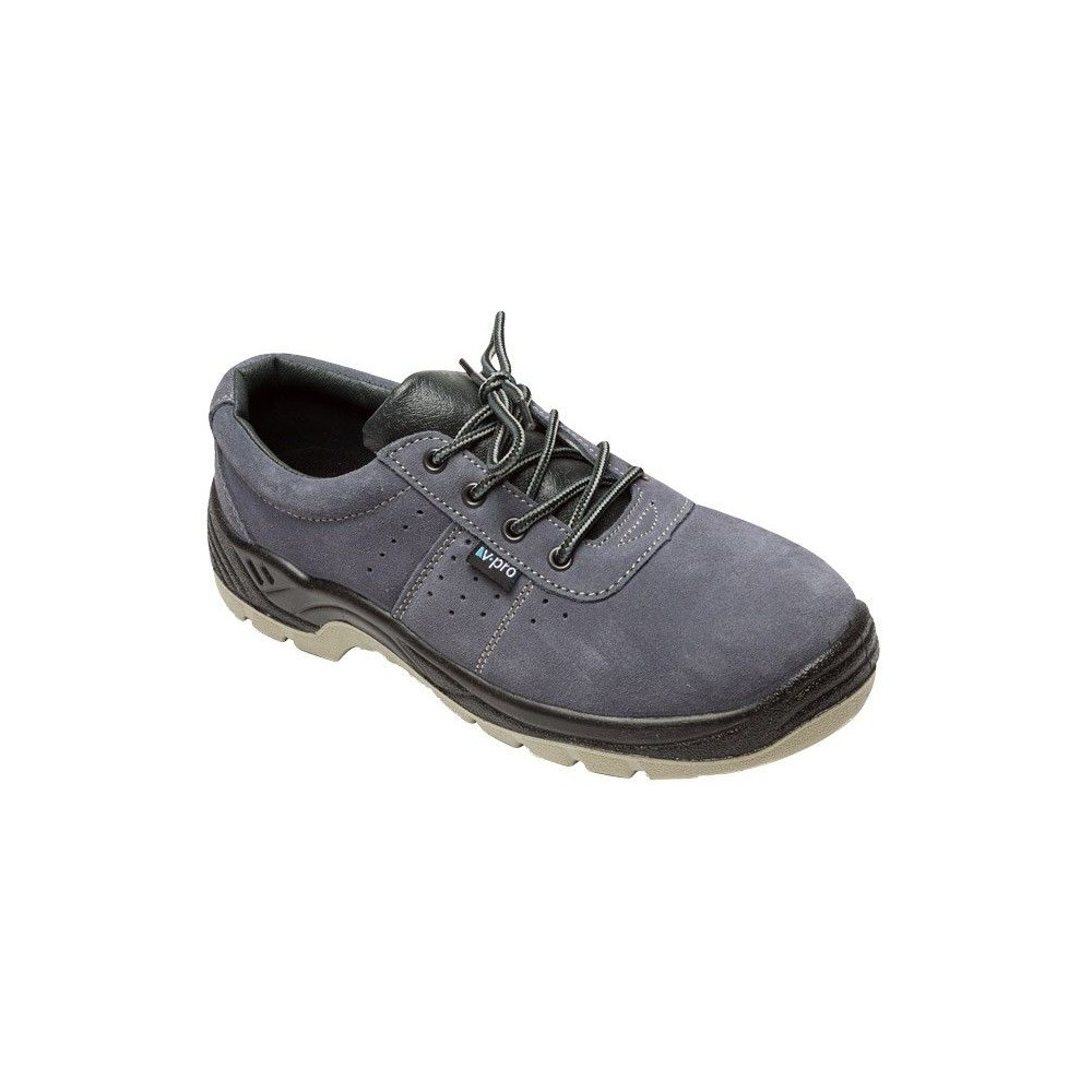 Zapato de seguridad serraje S1P SRC