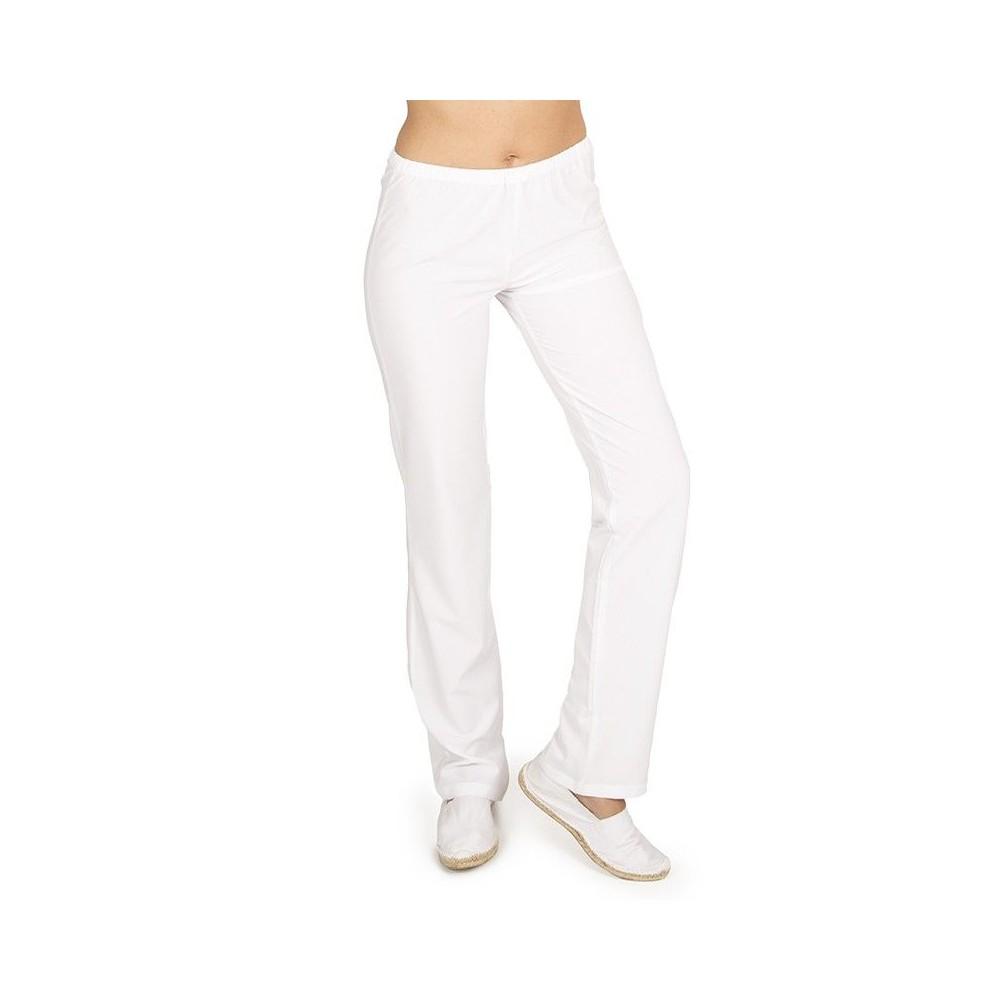 Pantalón elástico con cintura de goma