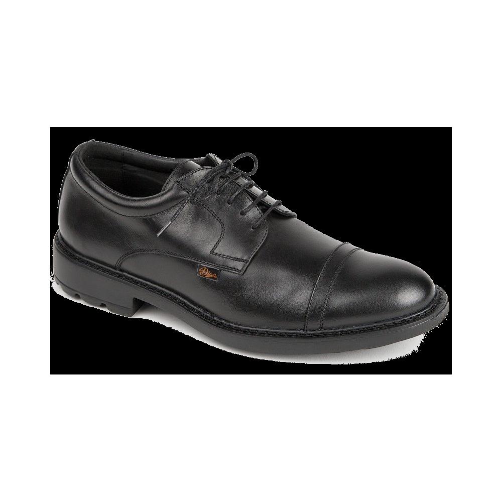 Zapato antideslizante de piel con cordones