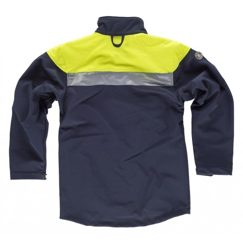 Chaqueta reflectante Workshell